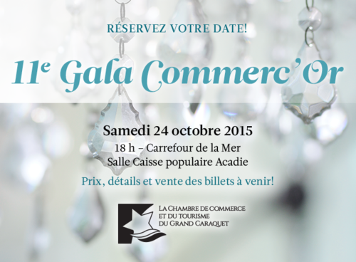11e Gala Commerc'Or